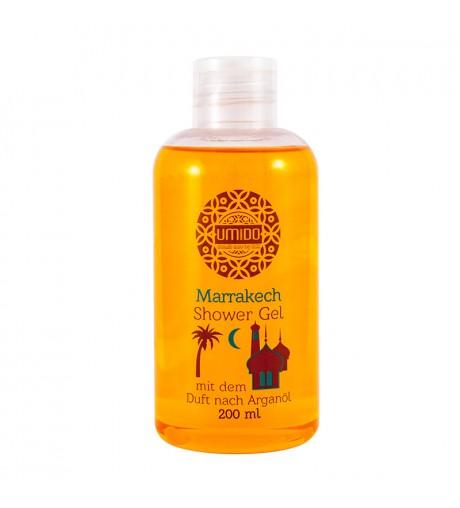 UMIDO Duschgel 200 ml Arganöl - Waschgel für Körper, Gesicht und Haare - sanfte Pflegedusche