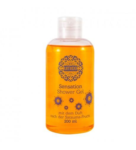 1x UMIDO Duschgel 200 ml Satsuma-Frucht | Waschgel für Körper, Gesicht und Haare | sanfte Pflegedusche | Körperpflege