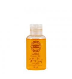 UMIDO Duschgel 50 ml Honig - Waschgel für Körper, Gesicht und Haare - sanfte Pflegedusche
