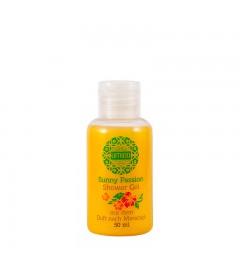 UMIDO Duschgel 50 ml Maracuja - Waschgel für Körper, Gesicht und Haare - sanfte Pflegedusche