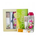 UMIDO Beautyset mit Handlotion 45 ml Kokos-Extrakt + Duschgel 250 ml Kokos + Handlotion 45 ml Ringelblumen-Extrakt