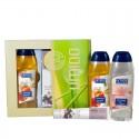 UMIDO Beautyset mit Duschgel 250 ml Pfirsich + Handlotion 45 ml Traubenkernöl + Duschgel 250 ml Spa