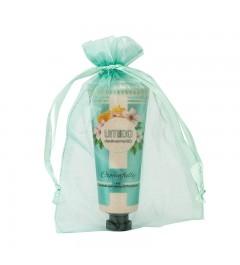 UMIDO Beautyset mit Handcreme 45 ml Honig-Pfirsichblüte inklusive Organza-Säckchen