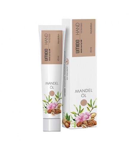 1x UMIDO Hand-Lotion 45 ml Mandelöl | Handcreme | Creme | Pflegecreme | Lotion | Hautpflege