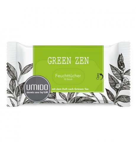 UMIDO Feuchttücher Grüner Tee