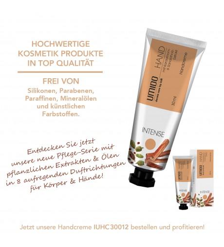 UMIDO Handcreme 30 ml Kardamom-Extrakt & Sandelholz-Extrakt