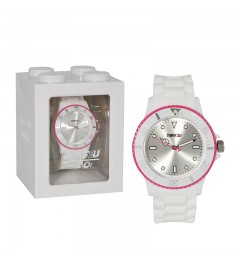 Armbanduhr Time2U weiß-rot