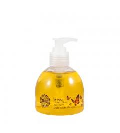 1x UMIDO Flüssigseife Spender 150 ml Mango | Händewaschen | Seife aus dem Pumpspender
