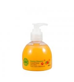 1x UMIDO Flüssigseife Spender 150 ml Maracuja | Händewaschen | Seife aus dem Pumpspender