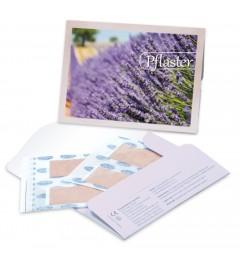 Pflastermäppchen Lavendelblüte