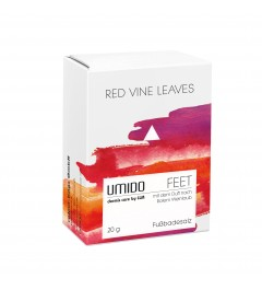 UMIDO Fußbadesalz Red Vine Leaves 20g