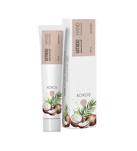 1x UMIDO Hand-Lotion 45 ml Kokos-Extrakt | Handcreme | Creme | Pflegecreme | Lotion | Hautpflege | Hand-Pflege