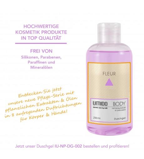 UMIDO Duschgel 250 ml Honig-Extrakt & Lavendelöl