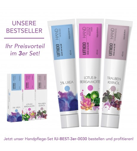 UMIDO 3er Set Handpflege 45ml Bestseller