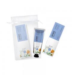 UMIDO Beautyset mit Handcreme 30 ml Calendula- & Milch-Extrakt inklusive Organza-Säckchen