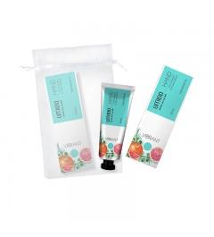 UMIDO Beautyset mit Handcreme 30 ml Orangen- & Pinien-Extrakt inklusive Organza-Säckchen