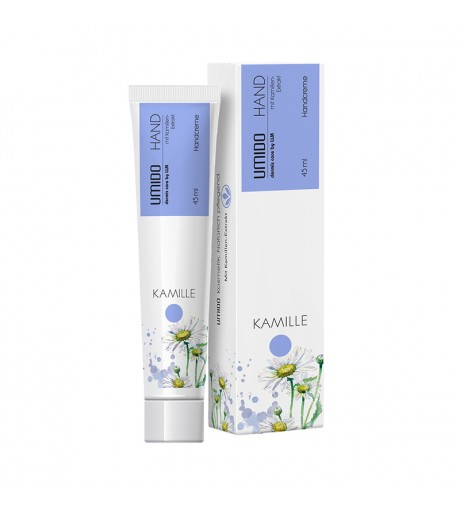 1x UMIDO Hand-Lotion 45 ml Kamillen-Extrakt | Handcreme | Creme | Pflegecreme | Lotion | Hautpflege