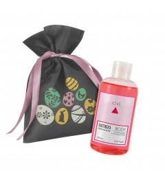 UMIDO Beautyset | 1x Duschgel 250 ml Granatapfel-Extrakt & Orchideen-Extrakt | OHNE Silikone & Parabene