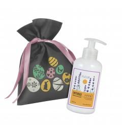 UMIDO Beautyset | 1x Handlotion 250 ml Honig-Extrakt & Lavendelöl | OHNE Silikone & Parabene
