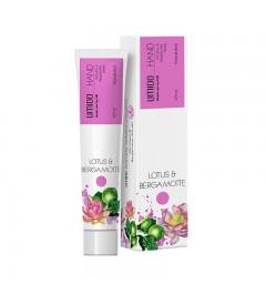 1x UMIDO Hand-Lotion 45 ml Lotus- & Bergamotte-Extrakt | Handcreme | Creme | Pflegecreme | Lotion | Hautpflege